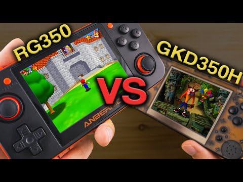 What Retro Handheld is the Best? - Retro Game 350 vs. Game Kiddy 350H - UCKF5151a6yAooOILrYTvfJg