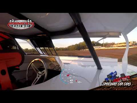 #22 Chad Donaldson -Midwest Modified - 10-3-2020 Springfield Raceway - In Car Camera - dirt track racing video image