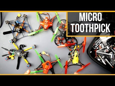 ULTIMATE MICRO FPV DRONE TOOTHPICK GUIDE and FLIGHTS 2019 - UC3c9WhUvKv2eoqZNSqAGQXg