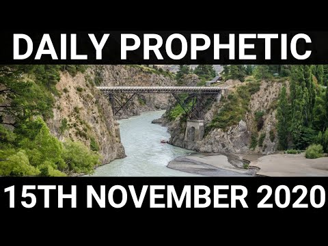 Daily Prophetic 15 November 2020 12 of 12