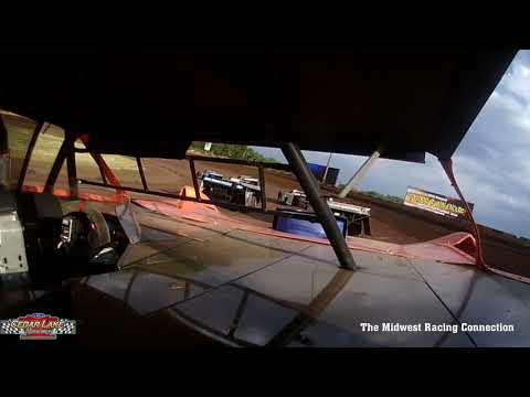 Gavin Tarras In Car - Cedar Lake Speedway 06/17/2021 - dirt track racing video image