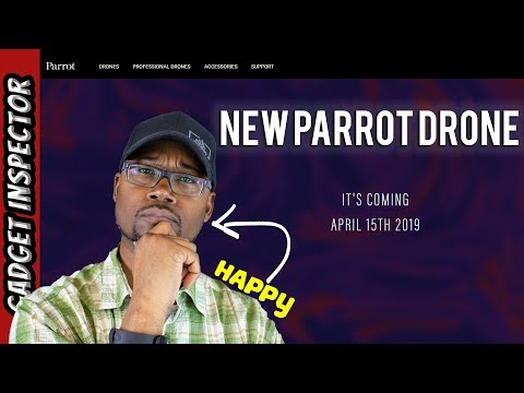 Parrot Drone Announcement | New Drone Coming April 15, 2019? - UCMFvn0Rcm5H7B2SGnt5biQw