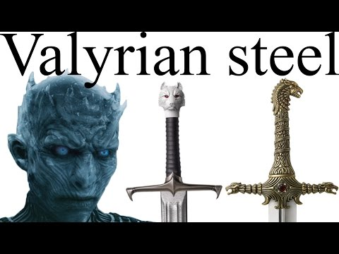 Valyrian steel: who has the swords that can defeat white walkers? - UCveZqqGewoyPiacooywP5Ig