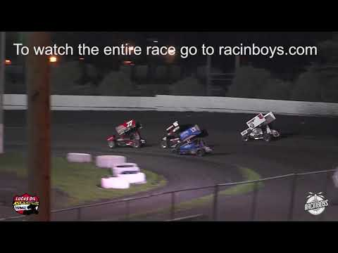 Highlights from Lucas Oil ASCS National Tour event at Merced Speedway in Merced, California on Fri. March 6, 2020. - dirt track racing video image