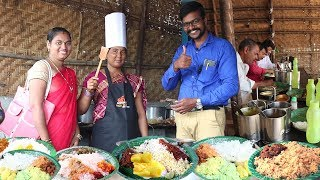 Best Hard working Women Selling Street Food..Hyderabad | Chicken,Boti , Fish Rice @ 70 Rs Only