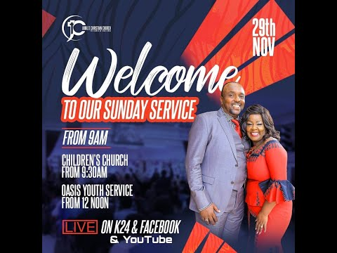 Jubilee Christian Church Parklands - Sunday Service - 29th Nov 2020  Paybill No: 545700 - A/c: JCC