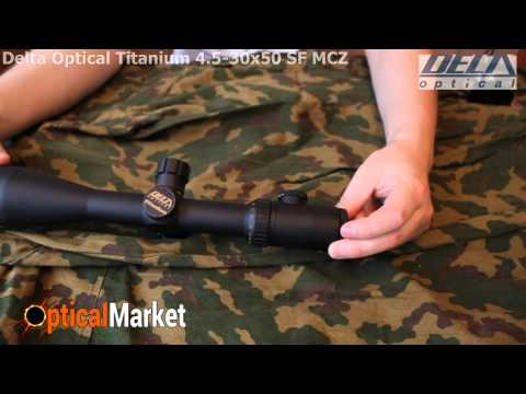 Прицел оптический Delta Optical Titanium 4.5-30x50 SF MCZ