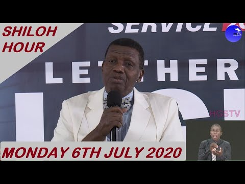 PASTOR E.A ADEBOYE SERMON - RCCG JULY 6TH SHILOH HOUR