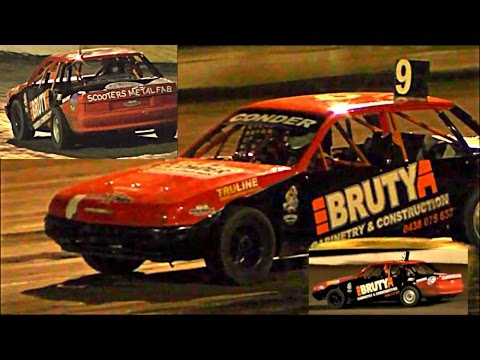 Open Sedans Final Southern 500 Speedway Portland 2-1-2017 - dirt track racing video image