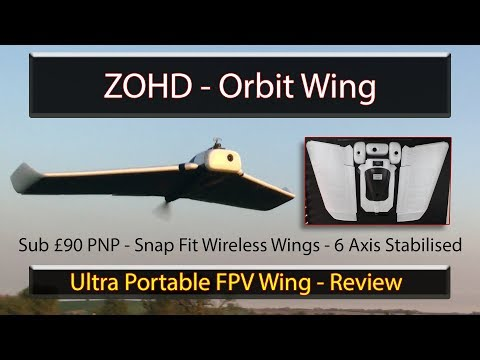 ZOHD Orbit Review - Snap-fit Flying Wing with built in Stabiliser - UC-Kz5oYmDkfrpYtyCfNo5uw