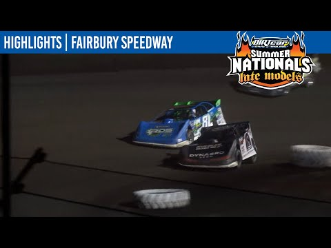 DIRTcar Summer Nationals Late Models Fairbury Speedway June 19, 2021   HIGHLIGHTS - dirt track racing video image