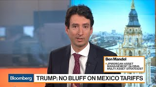 JPMorgan: `Hard to Overstate' Potential Damage of Mexico Tariffs on U.S.