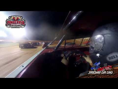 #5M Joshua Messer - Crate Late Model - 8-6-21 Ponderosa Speedway - In-Car Camera - dirt track racing video image