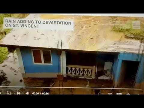 War Over Water Supplies, St Vincent Floods And Volcanic Ash