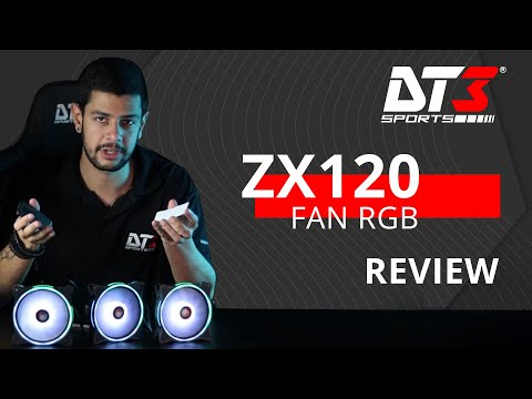 Unboxing do Fan ZX120!