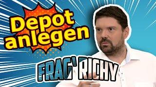 Frag Richy: Wie lege ich ein Depot an?   Börse Stuttgart   Frag Richy