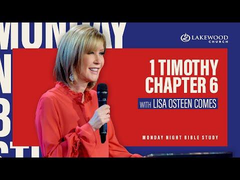 1 Timothy 6  Lisa Osteen Comes  2020