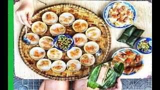 Hue Bloating Fern Cake (Banh beo xu Hue) - Saigon Cheap Street Food - Vietnam Street cuisine