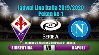 Fiorentina vs Napoli Liga Italia (Serie A) 2019/2020 Pekan ke-1