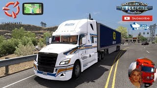 American Truck Simulator (1.35) Freightliner Cascadia 2018 fix [1.12] by Galimin + DLC's & Mods