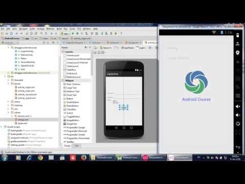 كورس برمجة تطبيقات الاندرويد  12 Spinner with String Array Resources
