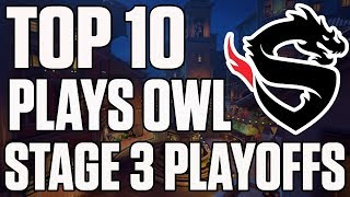 Top 10 Plays from Overwatch League Stage 3 Playoffs | ESPN Esports