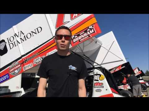 Rapid Fire questions with Iowa transplant from Florida, RJ Johnson! - dirt track racing video image