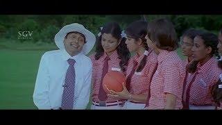 ಧೋನಿಗೆ ವಿಕೆಟ್ ಕೀಪಿಂಗ್ ಹೇಳಕೊಟ್ಟಿದೆ ನಾನು | Sharan Hilarious Comedy Scenes | Josh Kannada Movie
