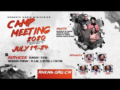 07.20.20    Mon. 7:30pm    Rev. Craig W. Hagin   Campmeeting 2020