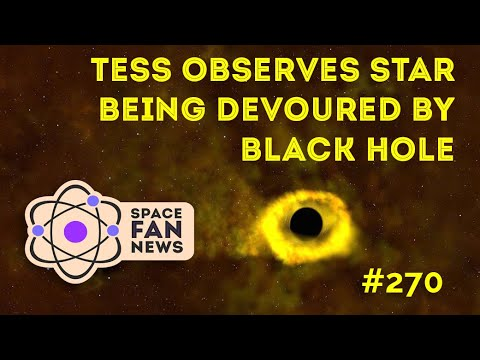 NASA's TESS Watches a Star Getting Devoured by a Black Hole - UCQkLvACGWo8IlY1-WKfPp6g