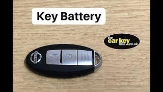 Cambio batteria chiave Nissan Qashqai