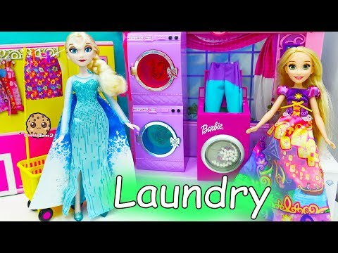 Color Changing Water Washing Machine Disney Frozen Queen Elsa Does Laundry - UCelMeixAOTs2OQAAi9wU8-g
