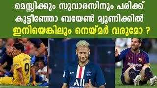 Messi and Suarez Injured, Does Barcelona Really Need Neymar Now?   Oneindia Malayalam