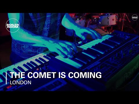 The Comet Is Coming Boiler Room London x Goldsmiths Sessions In Stereo - UCGBpxWJr9FNOcFYA5GkKrMg