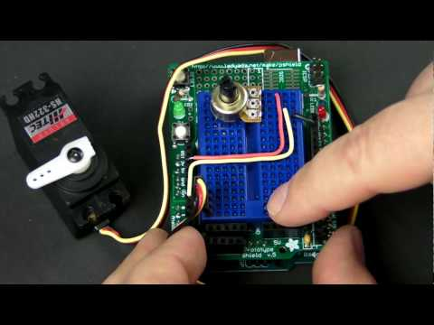 How-To Tuesday: Arduino 101 potentiometers and servos - UChtY6O8Ahw2cz05PS2GhUbg
