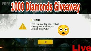 I GOT 20,000 DIAMONDS GIFT FROM GARENA FREE FIRE | A BIG