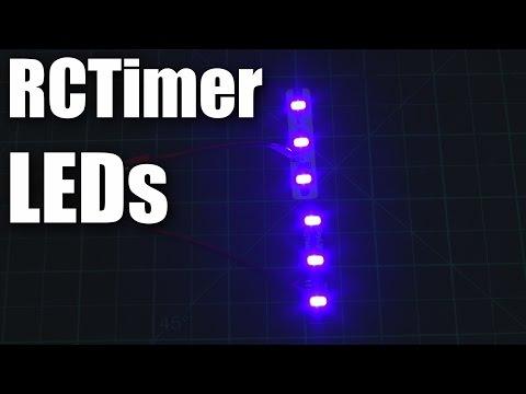 Review: RCTimer SkyLight LEDs for RC models - UCahqHsTaADV8MMmj2D5i1Vw