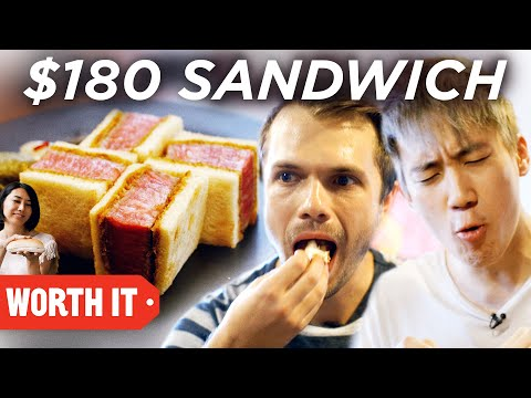 $6 Sandwich Vs. $180 Sandwich - UCpko_-a4wgz2u_DgDgd9fqA