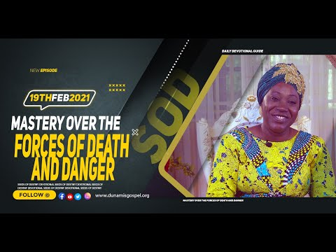 Dr Becky Paul-Enenche - SEEDS OF DESTINY  FRIDAY FEBRUARY 19, 2021