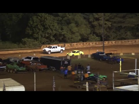 Spectator races at Winder Barrow Speedway August 7th 2021 - dirt track racing video image