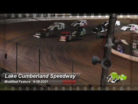 Lake Cumberland Speedway - Modified Feature - 9/18/2021 - dirt track racing video image