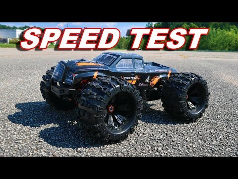 FAST GIANT RC Monster Truck Speed Test - ZD Racing MT8 Pirate 3 - TheRcSaylors - UCYWhRC3xtD_acDIZdr53huA