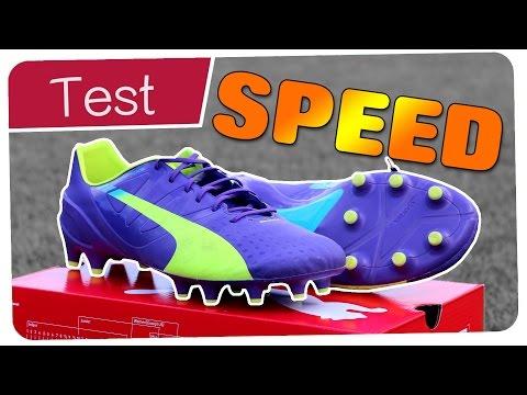 28f0b42cf Puma evoSPEED 1.3 Test   Review - AGÜERO FALCAO Boots 2014 - Germankickerz