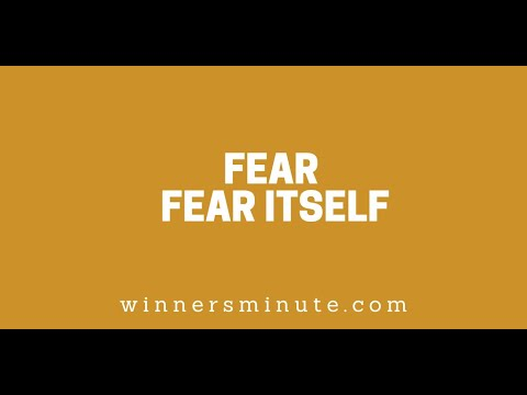 Fear Fear Itself