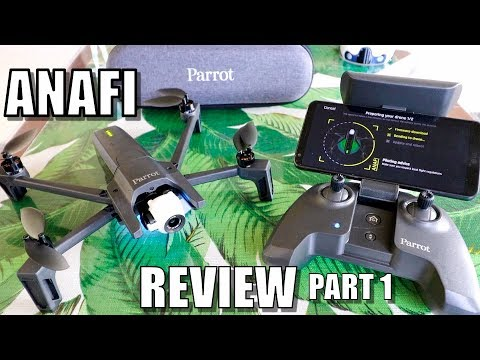 Parrot ANAFI Drone Review - Part 1 In-Depth - [Unboxing