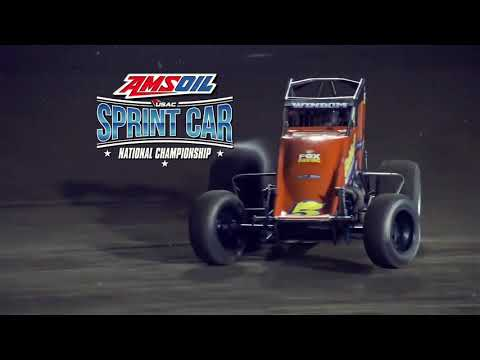 USAC Amsoil National Sprint Cars! - dirt track racing video image