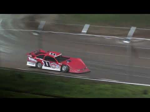 USA Nationals Local Late Model Main Event - Cedar Lake Speedway 08/06/2021 - dirt track racing video image