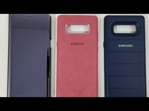 Galaxy Note8 | Official Samsung Case / Cover Comparison! - UCfz38IialrJgVSxSBgZS-zw