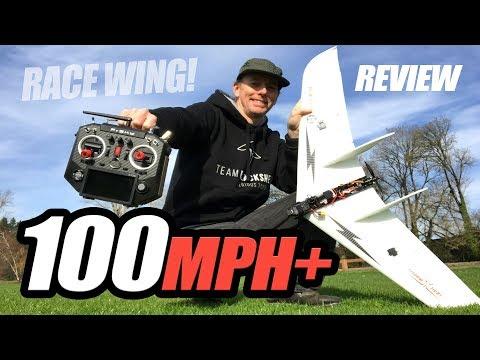 100mph Under $100 - Carbon Race Wing - Review, Flights, Pros & Cons - UCwojJxGQ0SNeVV09mKlnonA