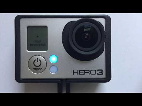 How to update firmware on GoPro HERO 3 (all versions)